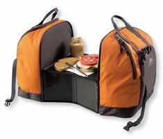 duo cooler kelty picnic outdoor gear Camping Cooler Bag with Built in Prep Table
