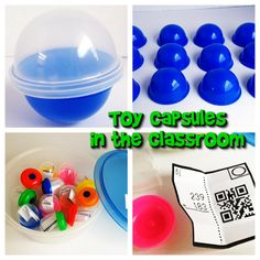 Toy capsules - a fun idea for adding an interesting twist to learning!