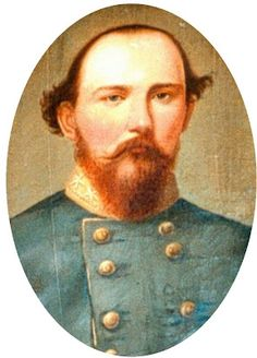 Confederate Brigadier General Benjamin Hardin Helm was killed during the Battle of Chattenooga September 21st 1863; he was the brother-in-law of President Abraham Lincoln.