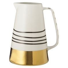 Gold Dipped Pitcher