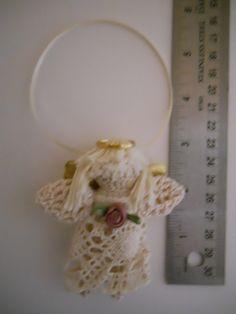 Miniature Crocheted Angel Doll