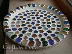 Mosaic Serving Tray or Plate
