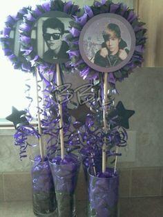 Alyssas 6th birthday party! on Pinterest  Justin Bieber, Diva Party ...