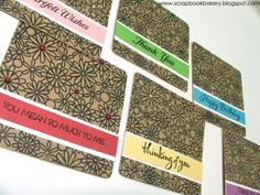 Love this card set by Heather Ruwe. She makes the best card sets! Such a cute idea.