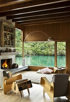 Another one in New Zealand. | Community Post: 21 Gorgeous Beach Houses That Are Doing It Right