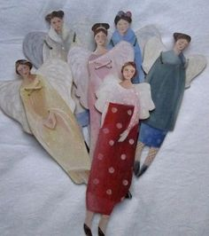 paper doll angels
