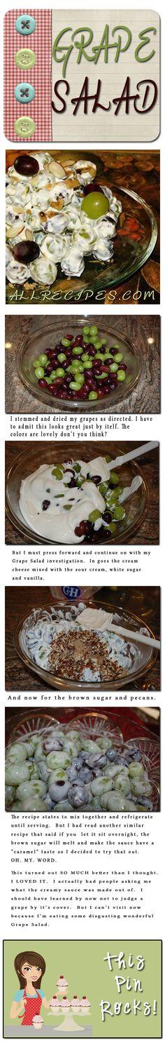 Grape Salad  #Salad #Fruit #Recipe