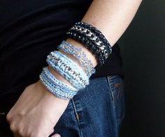 Chain & Crochet Bracelet Tutorial free crochet pattern