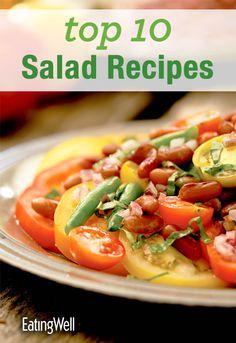 FREE Top 10 Salad Cookbook