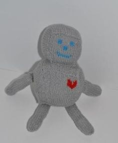 How to make Heartfelt Robot - DIY Craft Project with instructions from Craftbits.com