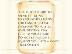 #Life, #Joel Osteen, #Quote #words