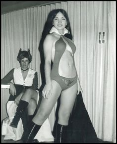 Probably the best Vampirella cosplay I have ever seen. No telling how old the photo is, though.