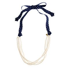 Crewcuts pearl medley necklace