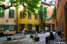 Branda Tomten, Stockholm Sweden