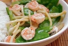 Shrimp & SnowPeas