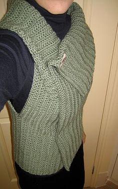 Joyce Lives Here: Crochet Wrap Vest