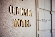 Always fascinated by the O.Henry Hotel