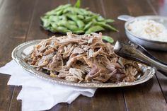 Oh my deliciousness!! This Hawaiian pork only takes 3 ingredients and is our all time favorite pork  ohsweetbasil.com_-3