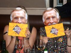 www.postboxparty.com - Bruce Forsyth themed Hen Party - 'Bruce's Price is Right Dirty' game show game with naughty Brucey bits!