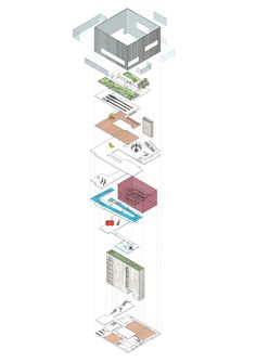 Exploded #Axonometric drawing