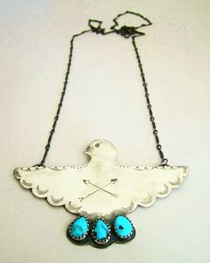 Turquoise and silver, love