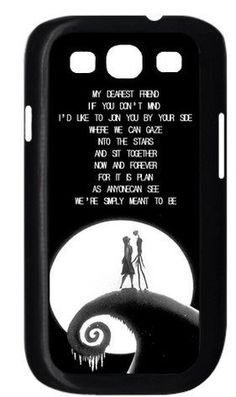 The Nightmare Before Christmas Samsung Galaxy S3 I9300 Case Cover ...