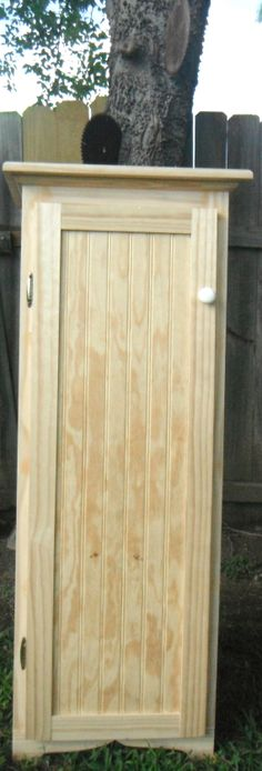Jelly Cabinet - Jelly Cupboard - Pantry - Storage Cabinet - Pine - Unfinished - 4 ft - Kitchen Cabinet