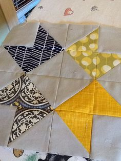 Ribbon Star by Manda Made Quilts, via Flickr