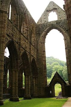 The Tintern Abbey in Wales