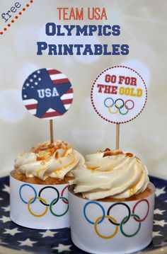 Free Team USA Olympics Printables
