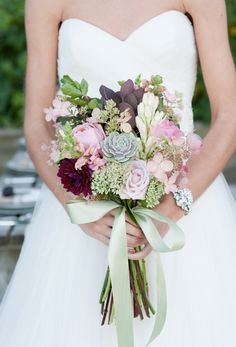 Cute vintage country style bouquet