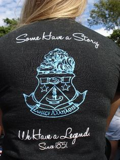 Some Have a Story, We Have a Legend. Since 1851. I SO WANT THIS FOR A SHIRT!!!