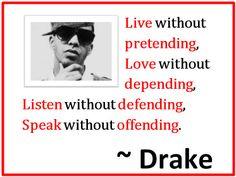 Drake Quotes - Love, Life & Lyrics Quotes from Drake
