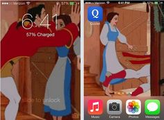 I See What You Did There laugh, coolest iphon, stuff, funni, belle and gaston, iphon lock, gaston disney, awesom, belle gaston iphone