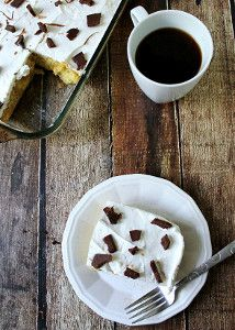 EASY. TIRAMISU. POKE. CAKE. Must try this.