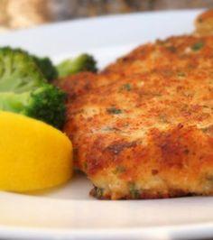Parmesan Crusted Chicken dinner, cook, chicken recipes, main dish, food, drink, parmesan crust, yummi, crust chicken