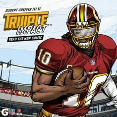 Awesome #RG3 comic graphic #Redskins