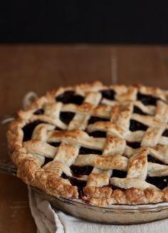 Blackberry Lattice Pie