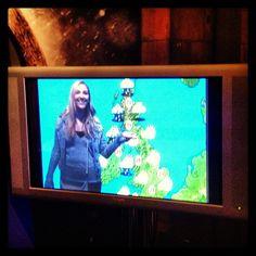 samlouclark Life dream realised! Thanks @NHM_London #weathergirl #su2013