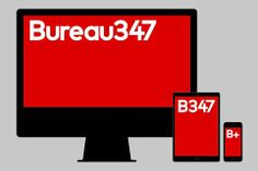 Build has rebranded Belgian digital agency Bureau347, creating a responsive identity that shifts according to the size of device it's viewed on.