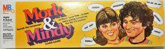 MILTON BRADLEY: 1978 Mork and Mindy Card Game #Vintage #Games