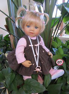 Amy by Artist Doris Stannat Master Piece Dolls