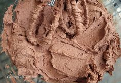 Gourmet Girl Cooks: Milk Chocolate Peanut Buttercream Frosting - Decadent, Low Carb & Sugar Free
