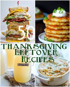 50 Thanksgiving Leftovers Recipes | www.theroastedroot.net