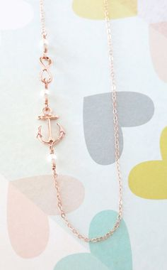 Forever Anchored Rose Gold Anchor and Infinity