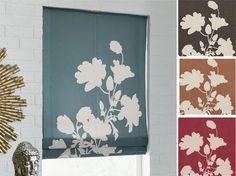 diy roman blinds