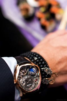 Horological Sushi Dinner starring the Greubel Forsey GMT. Read the full article on WatchAnish.com.