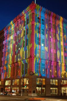 Pittsburgh Festival of Lights by rjdudley, the old Horne's building.