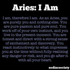 Aries I Am