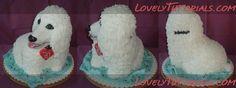 cake tutorial, 3d dog, dog cakes, cake dog, 3d cake, anim cake